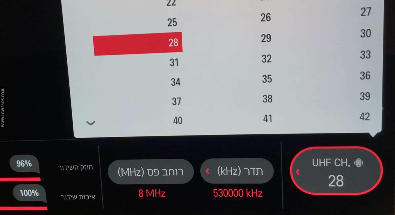 מודרני עידן פלוס בטלוויזיות LG – LG WebOS Smart TV Israel TV-97