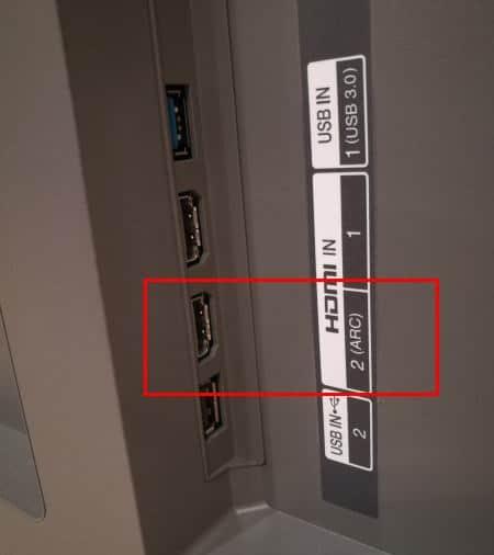 מדריך לחיבור טלוויזיית LG דגמי 2021 ומעלה לרסיבר עם HDMI ARC