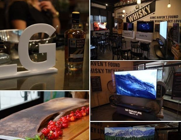 אלבום תמונות של אירוע ההשקה לטלוויזיות LG דגמי 2019