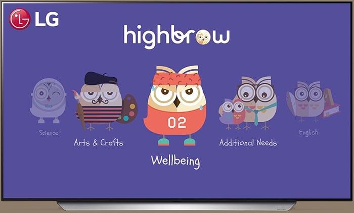 חברת LG ו- Highbrow מציגות תכנים חינוכיים בטלוויזיה לתלמידי בית הספר היסודי