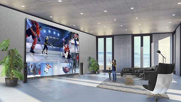 חברת LG משיקה בעולם את טלוויזיית LED 8K LED בעלת תצוגה ישירה של 325 אינץ